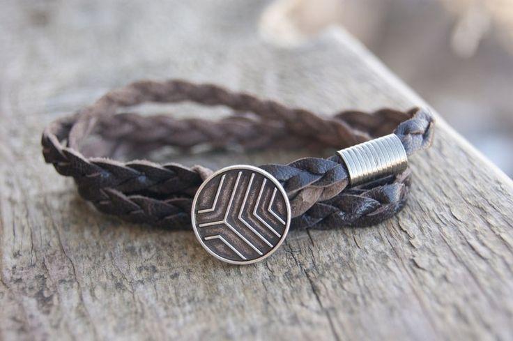Men's Bracelet, Fashion, Men's Fashion, Accessories, Men's Accessories, bracelet for men bracelet leather bracelet with stones, handmade, beautiful bracelets