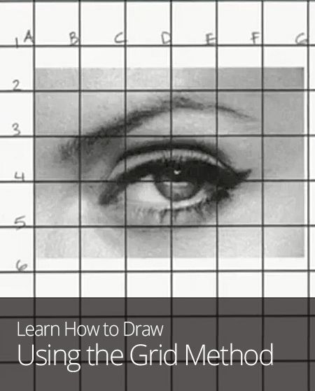 Line Drawing Using Direct Method : The best images about grid art on pinterest cat