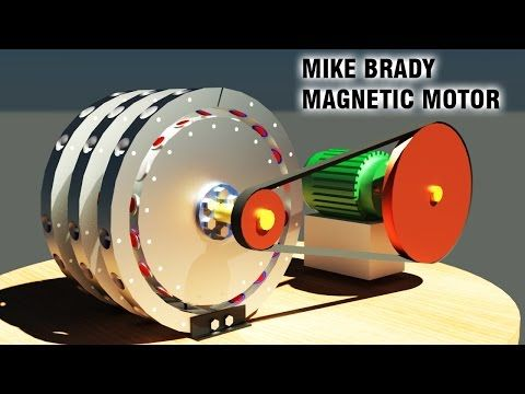 Free Energy Generator Mike Brady Permanent Magnet Machine