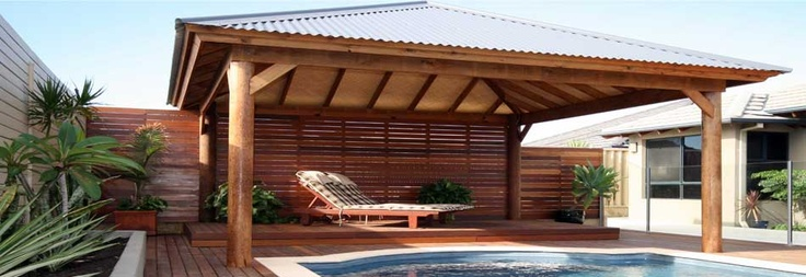 Pool Cabana Hut thingy we'd like. One day