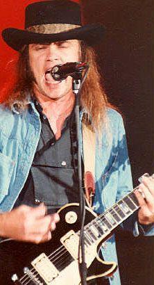 Rickey Medlocke (born:February 17, 1950, Jacksonville, FL, USA) is an American guitarist and musician (Blackfoot and Lynyrd Skynyrd).