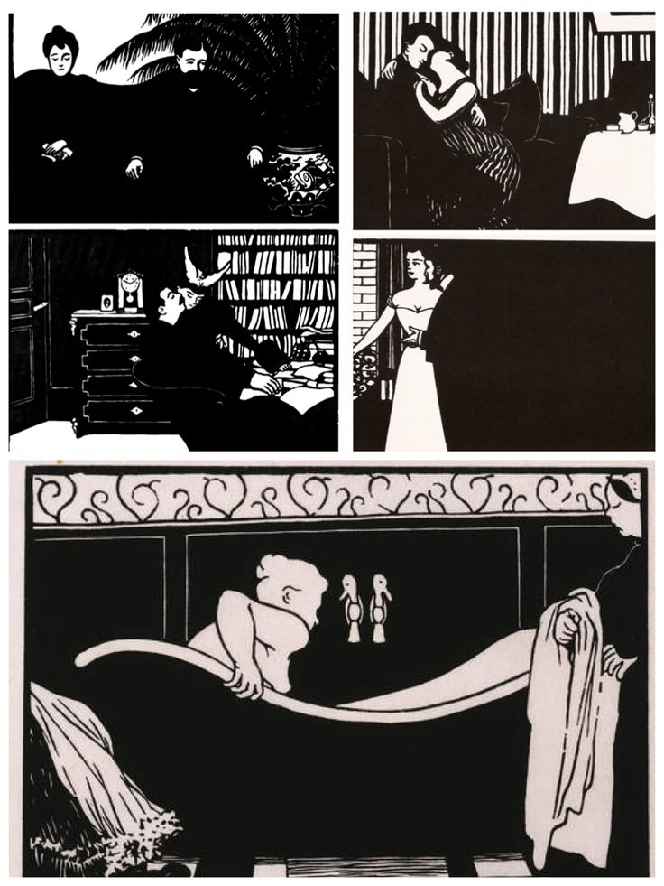 Félix Vallotton - Xylographies (woodcuts)
