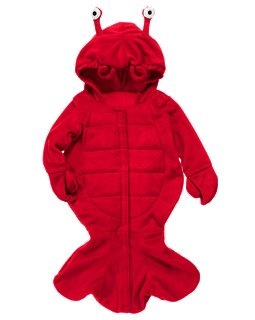 Its a baby Lobster costume!