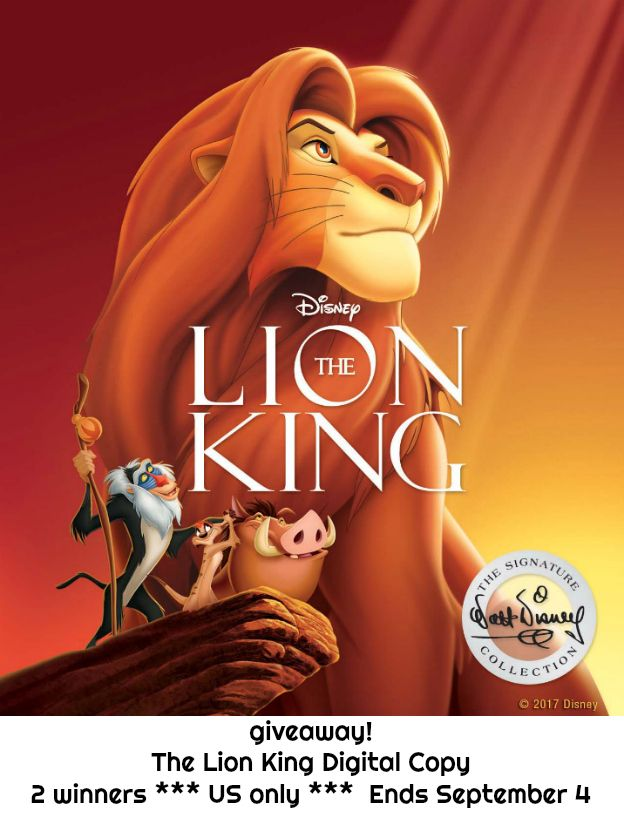 """""""The Lion King"""" has been added to the Walt Disney Signature Collection. Enter to win!  AD"""