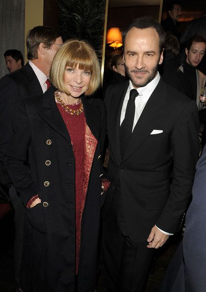"Anna Wintour & Tom Ford - The Cinema Society & Bing Host Screening of ""A Single Man"" - After Party"