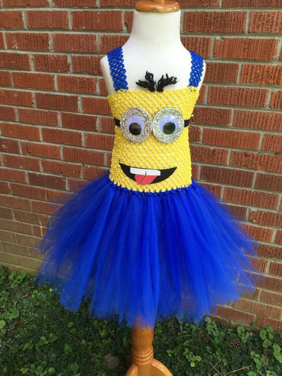 Minion Tutu Dress Costume for Babies and Toddlers by ChachaTutu