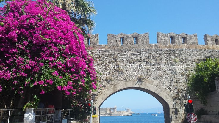 Summer in Rhodes.  #OldTown, the perfect place to be
