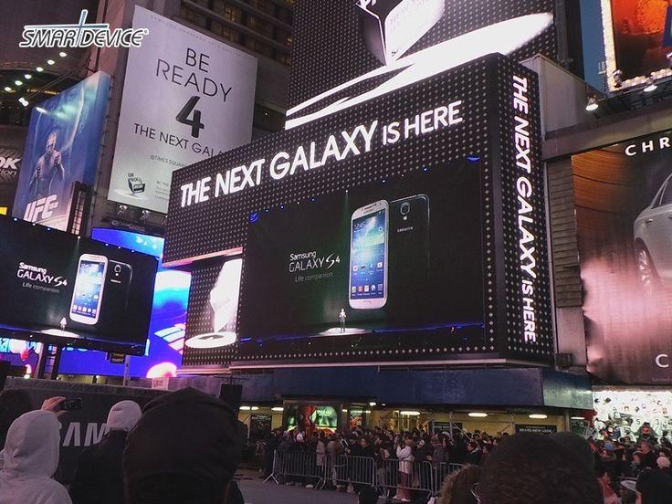 [언팩 2013]갤럭시 S4 공개, 타임스퀘어에서 만난 갤럭시 S4 (By 블로거 'PCP인사이드' @pcpinside)    http://smartdevice.kr/601