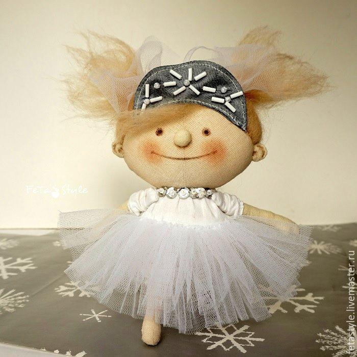 Купить Я Снежинка Кукла-подвеска Игрушка на Елку - елка в детском саду