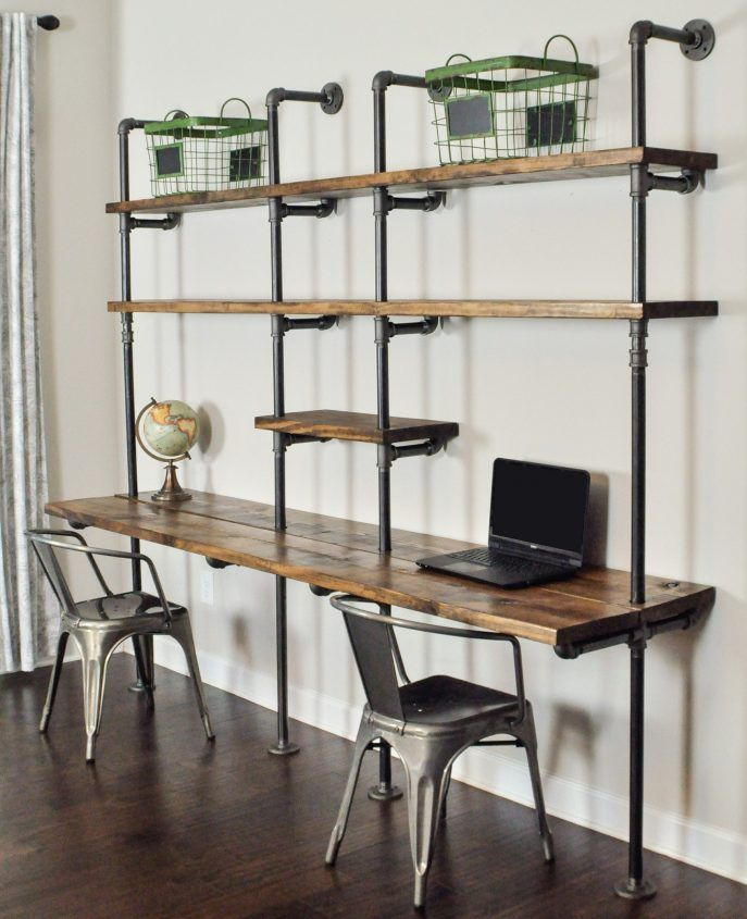Living Room:Awesome Industrial Living Room Shelves Ideas ...