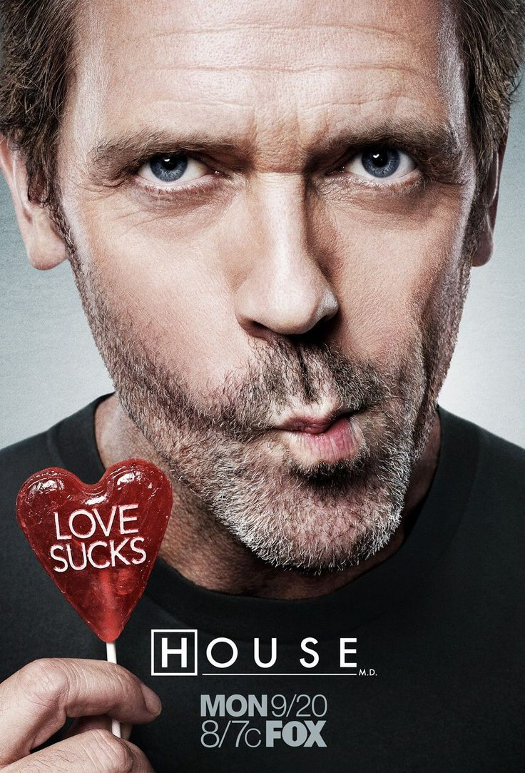 House M.D. | Gregory House, Hugh Laurie.