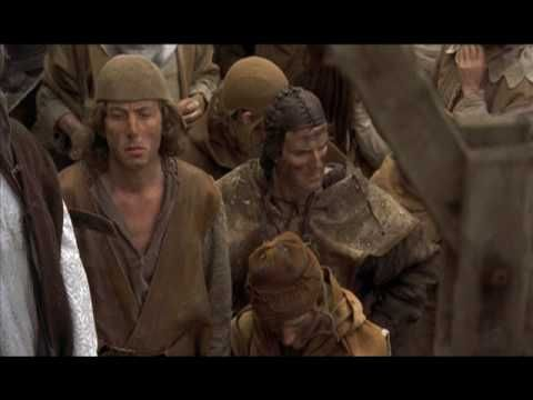 "I just had my English 10 (ie. entry-level college English/""freshman composition"") students practice identifying fallacies in argumentation using this clip from Monty Python and the Holy Grail. Ad hominem, ""begging the question,"" false analogy...this scene is rife. ;)"