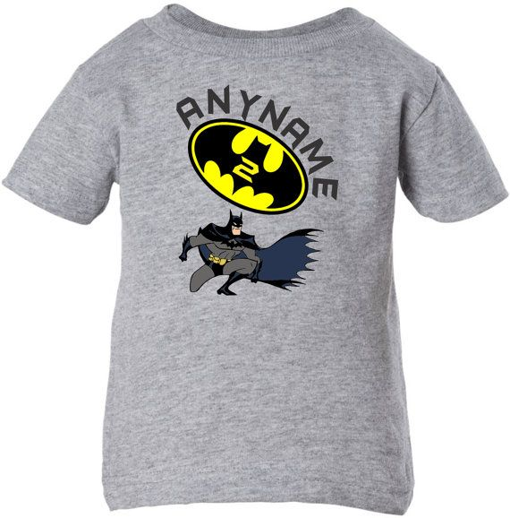 Batman Cute Infant Toddler Youth Birthday by PersonalizedDesigns1, $11.00