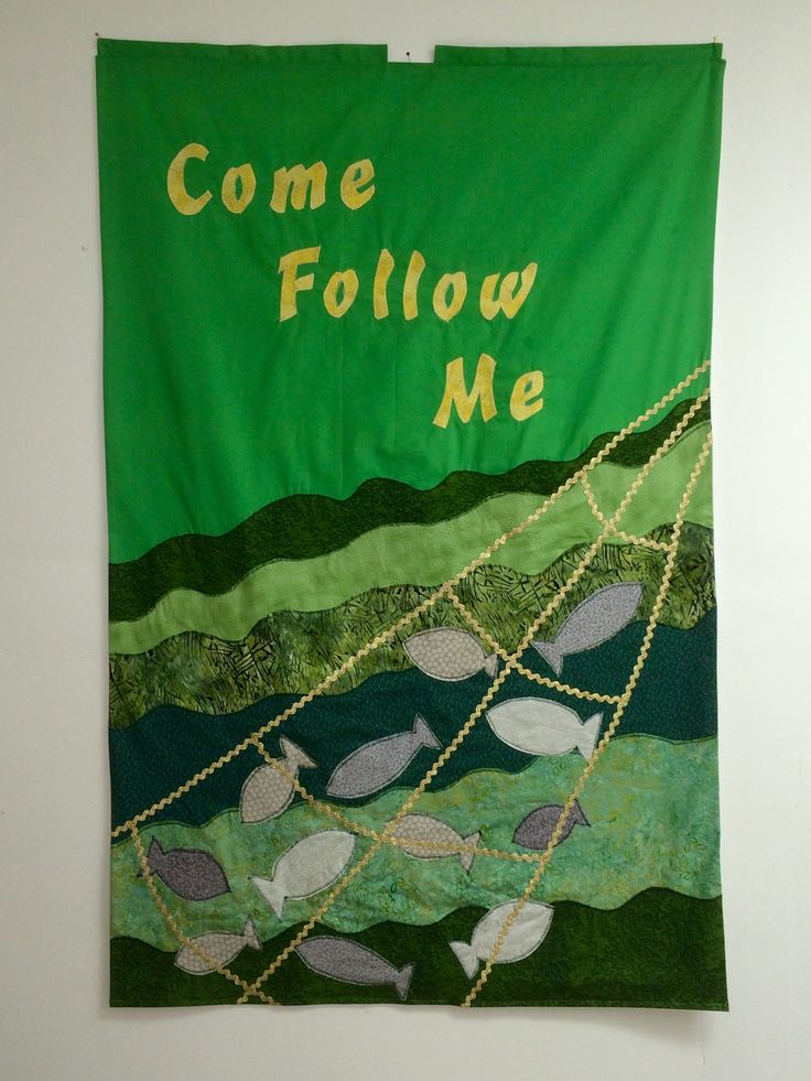 Church banner for Ordinary Time.