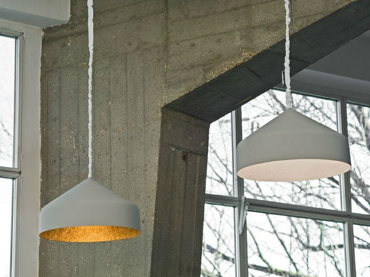 LAMPADA A SOSPENSIONE IN RESINA EFFETTO CEMENTO CEMENTO Cyrcus COLLEZIONE MATT da In-es.artdesign