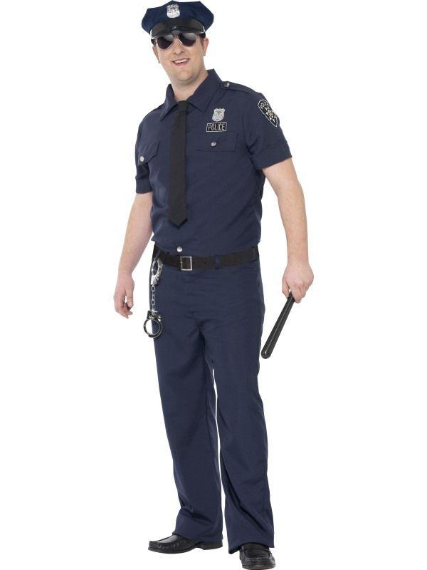e65112cad7 Plus Size NYC Cop Costume