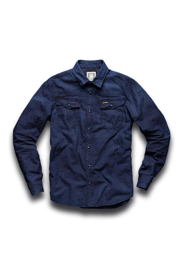 Men's Long Sleeve Tailor shirt http://www.g-star.com