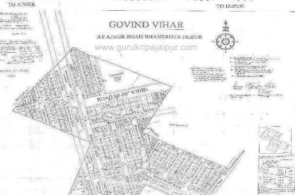 Govind Vihar Jaipur Residential Plots for Sale in Bhankrota, Ajmer Road Jaipur