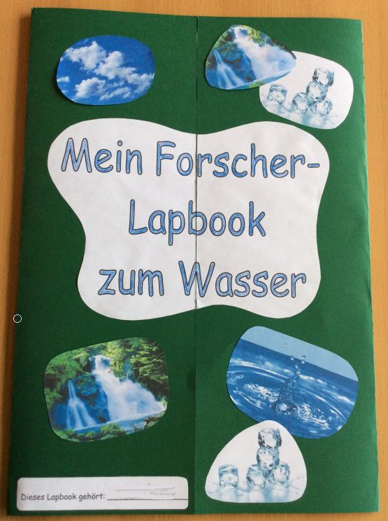 Lapbooks in der Grundschule: Sachunterricht Forscherlapbook Wasser