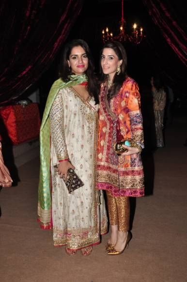 Anum Farook Khan and Minhal Malik
