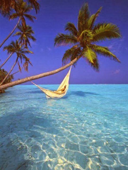 Ocean Hammock in the Maldives