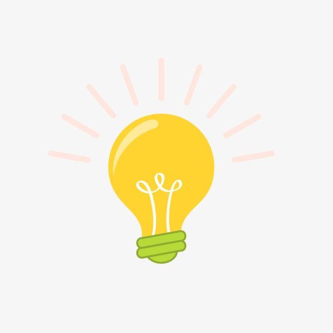 Creative Cartoon Light Bulb Png And Clipart Cartoon Light Bulb Bulb Cartoon Clip Art