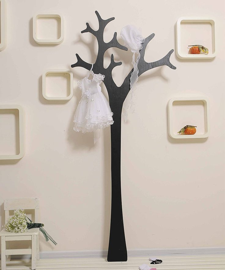 Take A Look At This Black Tree Shape Coat Hanger On Zulily