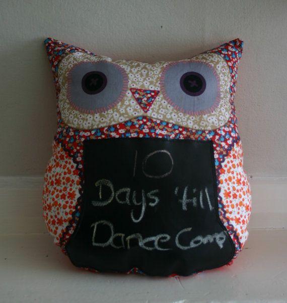 Message Owl by CushyNZ on Etsy