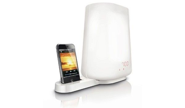 Philips HF3490 Wake-up Light is also a bedside lamp, iPod dock -- Engadget