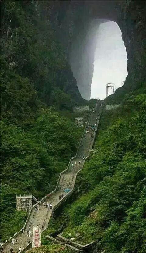 Escaleras al cielo  China.