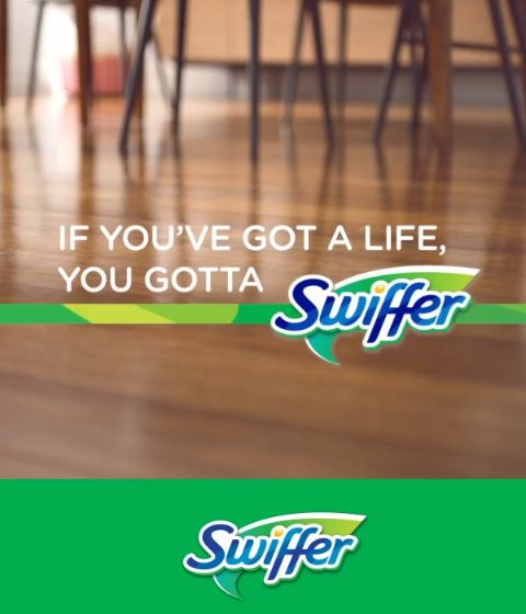 Kids can get themselves into hairy situations. But, Swiffer Sweeper and Swiffer Dusters can pick up dirt, dust and – yes, hair – even in hard-to-reach places. From spring cleaning to post-kid cleanup, Swiffer helps you know how to clean hardwood floors. If you've got a life, you gotta Swiffer.