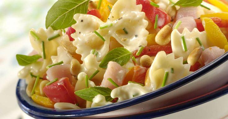 Recette - Salade de pâtes gorgée de soleil | 750g