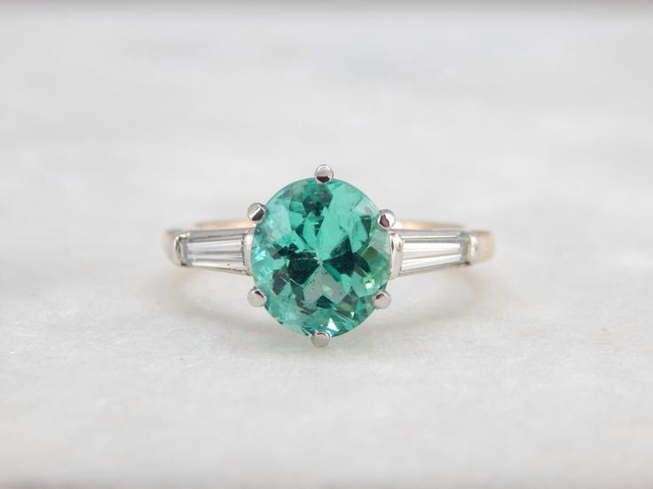 1000 ideas about Emerald Engagement Rings on Pinterest