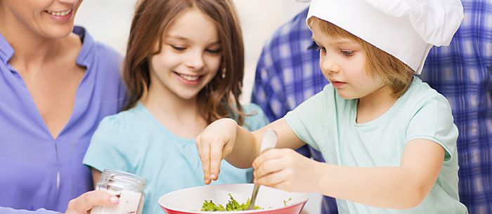 4 Cooking Games for Kids! Get kids involved in the kitchen to teach them valuable skills -- and make dinnertime run more smoothly.
