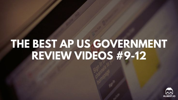The Best AP US Government Review Videos: Crash Course U.S. Government and Politics #9-12 https://www.albert.io/blog/best-ap-us-government-review-videos-crash-course-us-government-and-politics-9-12/