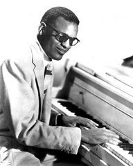 Rhythm And Blues Art - Ray Charles  by Retro Images Archive