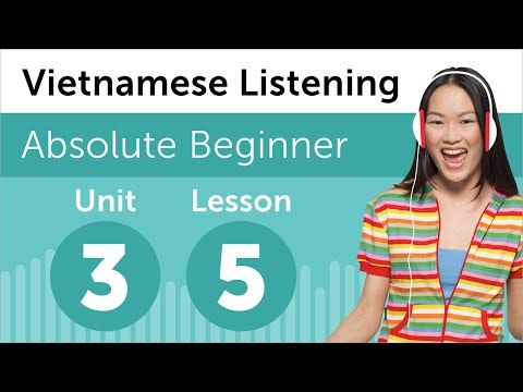 Visit www.vietnamesepod101.com to learn Vietnamese for free!In this lesson, you will improve your listening comprehension skills from a Vietnamese conversation about breakfast. #vietnamese #vietnamesepod101 #learnvietnamese #vietnam