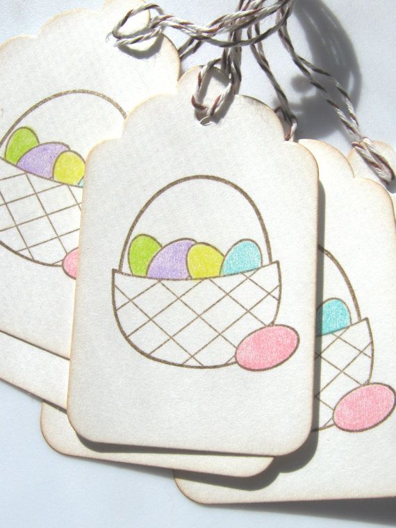 Easter basket gift tags easter gift tags easter by charoneldesigns easter basket gift tags easter gift tags easter by charoneldesigns 495 tags pinterest more basket gift ideas negle Images