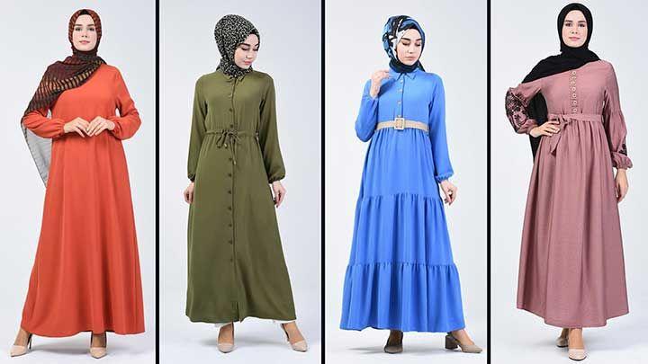 Sefamerve Tesettur Elbise Modelleri 3 2020 Reformation Clothing 2020 Elbise Modelleri Elbise Nedime Giysileri