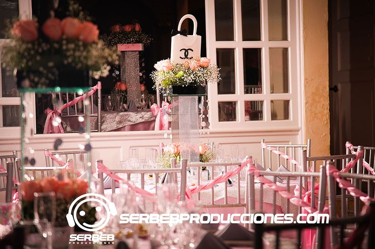1000 images about decoraci n de 15 a os tiffany rosa on - Decoracion fiesta rosa ...