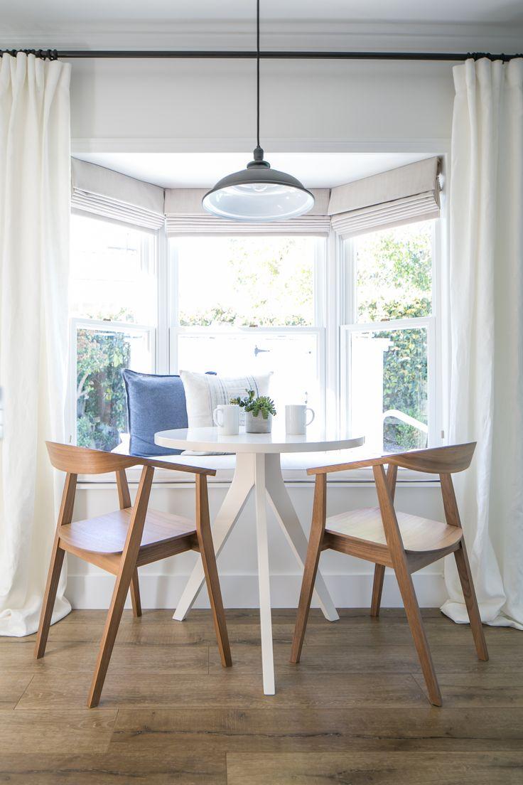 25 best ideas about breakfast nook curtains on pinterest for Modern farmhouse window treatments