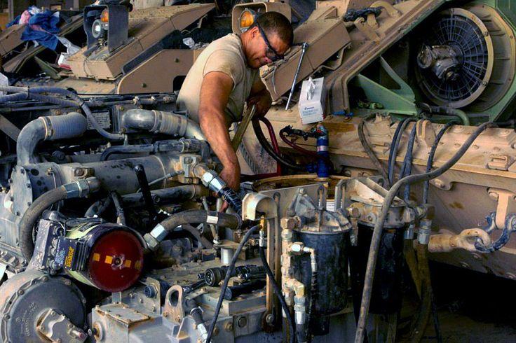 M2 Bradley Mechanic | Army | Pinterest