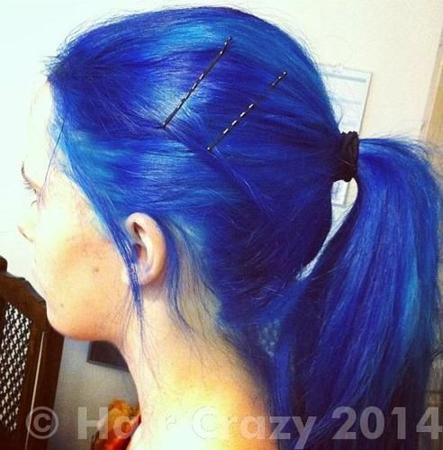 17 Best Ideas About Midnight Blue Hair Dye On Pinterest