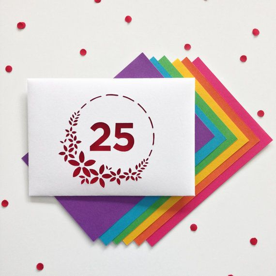 25 Anniversary Card 50 Anniversary by PaperPaperStore on Etsy