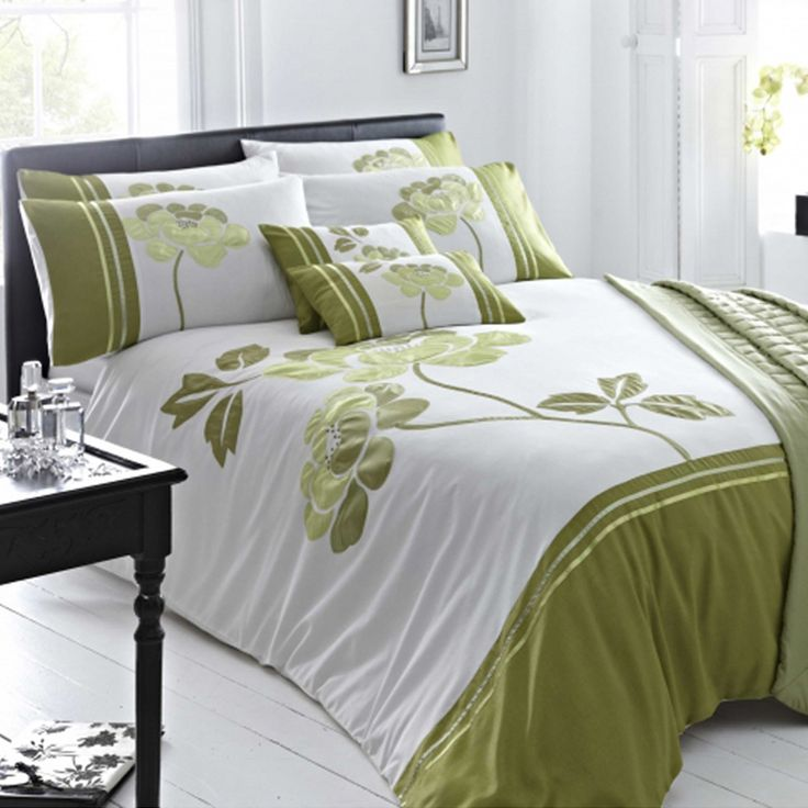 issey green duvet cover set - Comforter Covers