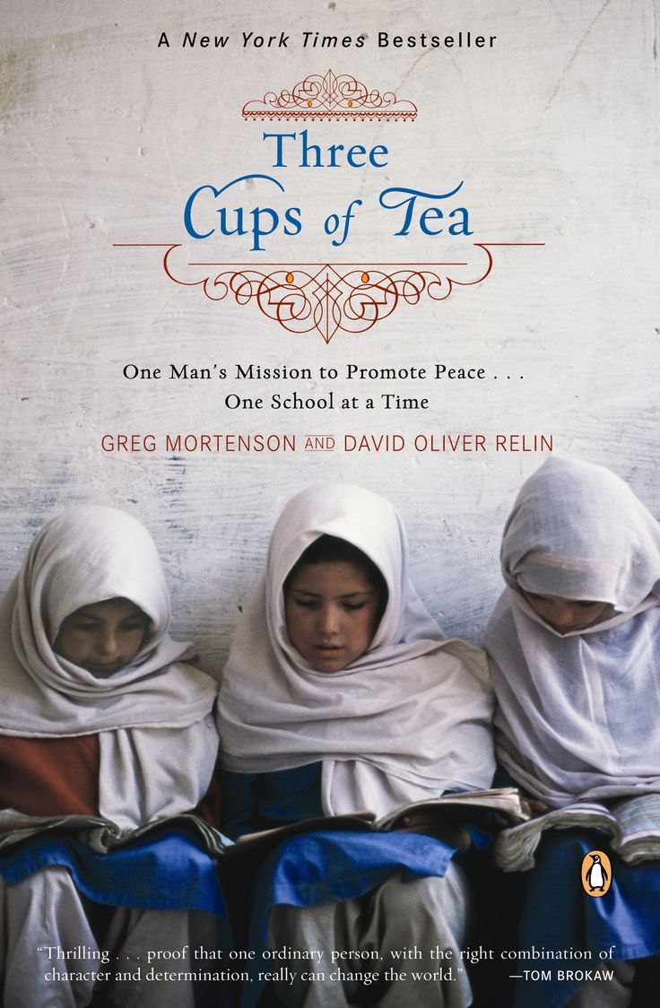 Three Cups of Tea literally changed my life. A nurse turned teacher, turned inspirer of schools across the world is truly a lifelong dream that more people should strive to achieve.