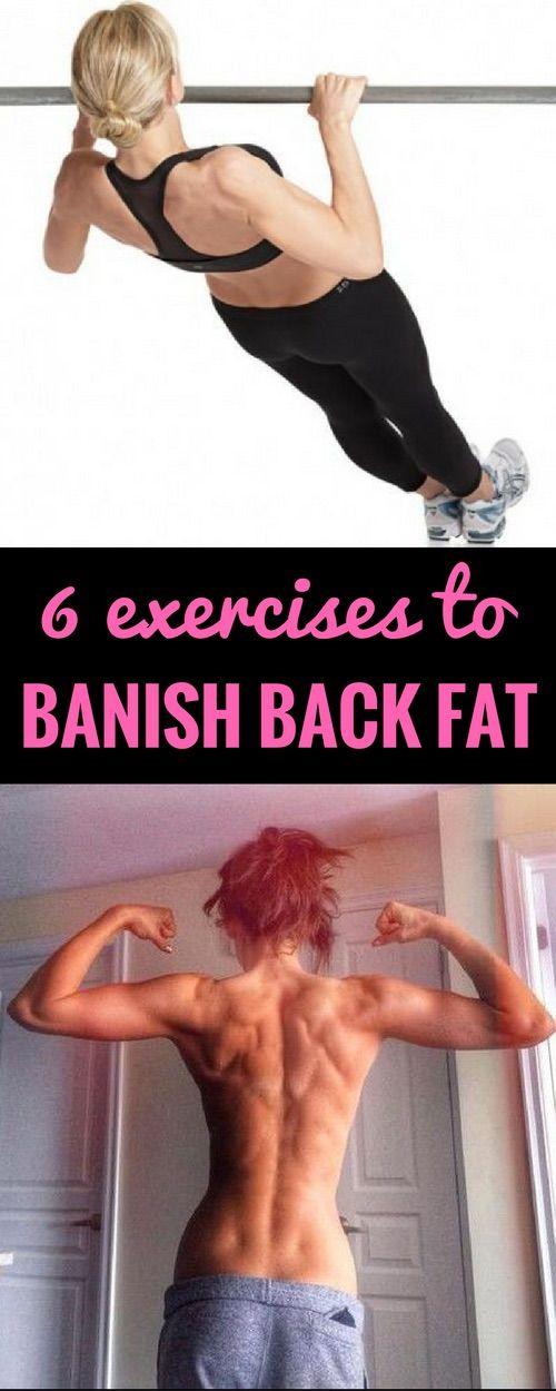 6 best exercises to banish back fat