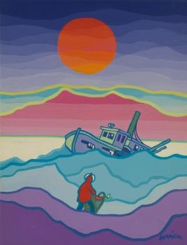 The Cremation of Sam McGee - the poem by Robert Service illustrated by Ted Harrison