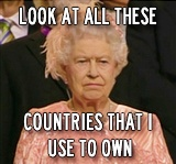 bahahahahahah maybe that's why the queen didn't smile once during the opening ceremony.....Queen Elizabeth, Olympics Games, Memes, Open Ceremonies, The Queens, The Tardis, London, Funny Stuff, Queens Elizabeth