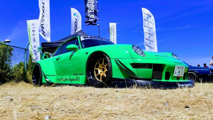 Rauh Welt Porsche 993 at StanceNation Japan #rwb #rauhwelt #stancenation #スタンスネーション #Porsche #porsche993 #stancenationjapan